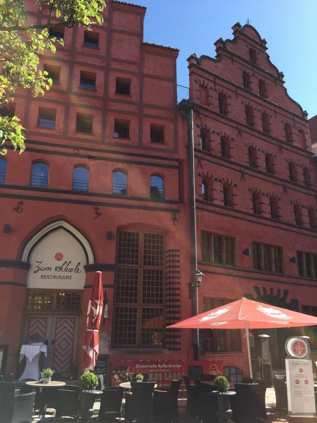Gebäude der Altstadt aus dem 15.Jh.