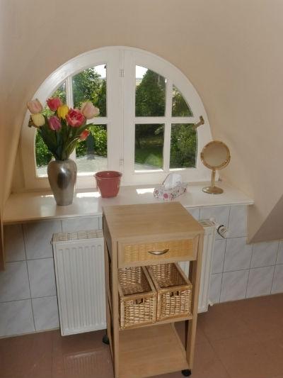 Fenster Bad im Obergeschoss