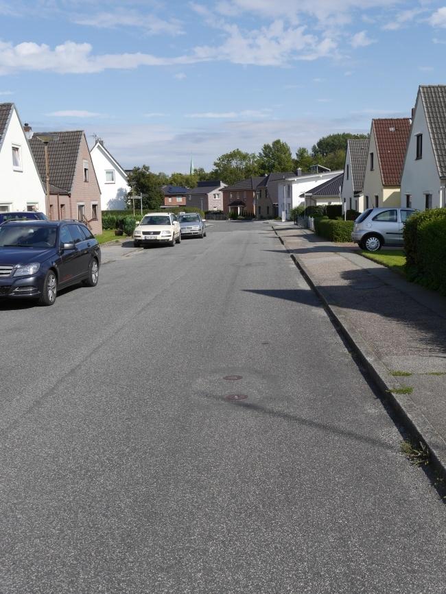 ruhige Wohnstrasse