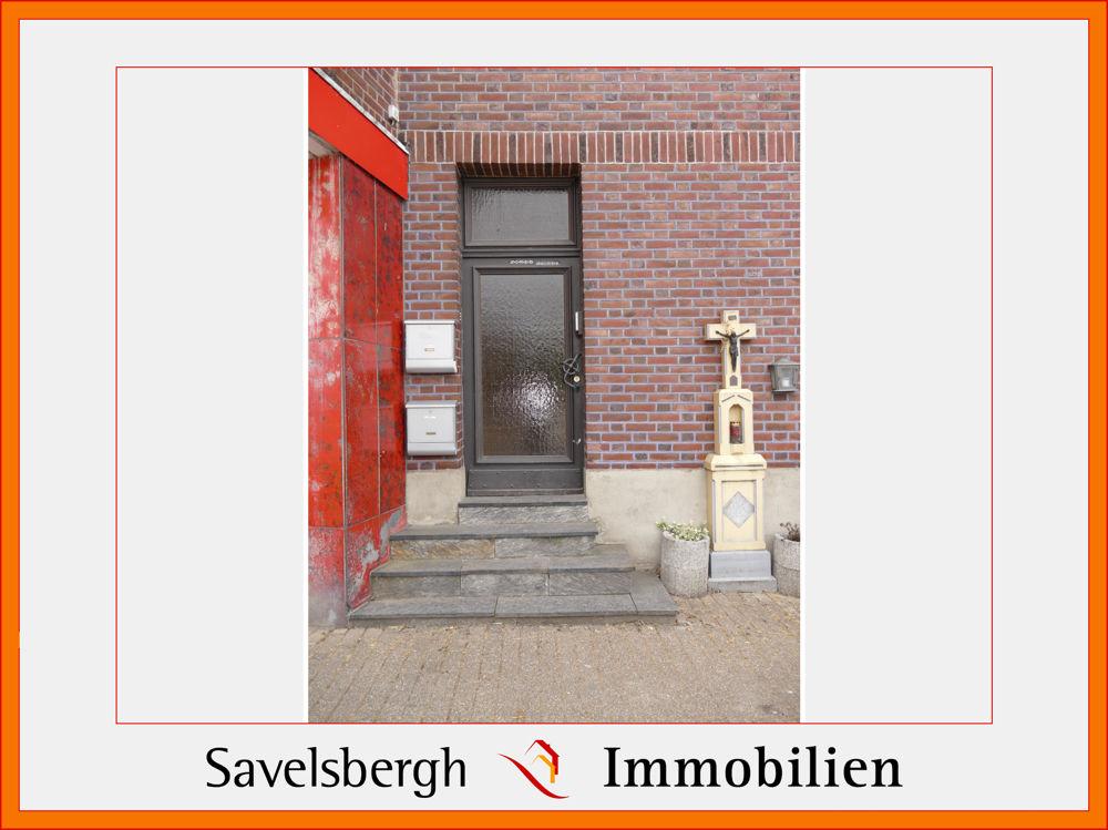 Haus-Seiteneingang