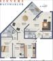 4-Zimmer-Wohnung im 1. OG