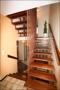 Offene Treppenbereich in die Etagen