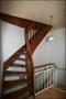 Treppe in den ausgebauten Spitzbodenbereich