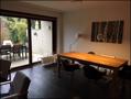 Essbereich im Wohnzimmer