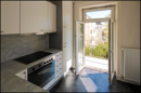 Muster Küche mit Balkon