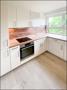 Hochwertige brandneue Nobilia-Küche mit Markengeräten von Bauknecht und AEG