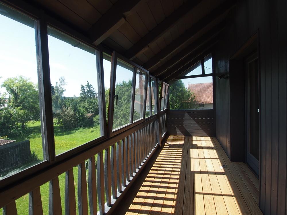 Balkon Wohnung OG