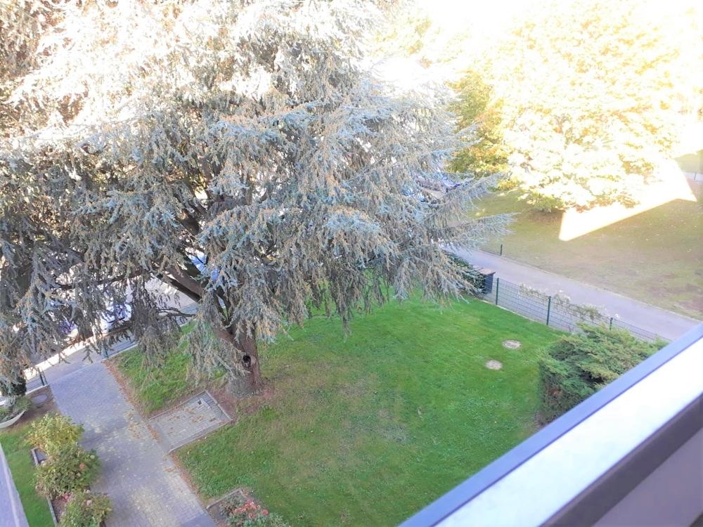Blick vom Balkon..