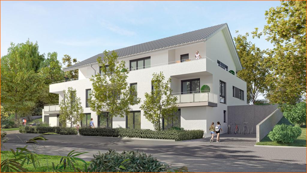 Haus-Ansicht von der Bergstraße