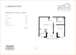 Grundriss 1.Obergeschoss Mitte- Wohnung 04