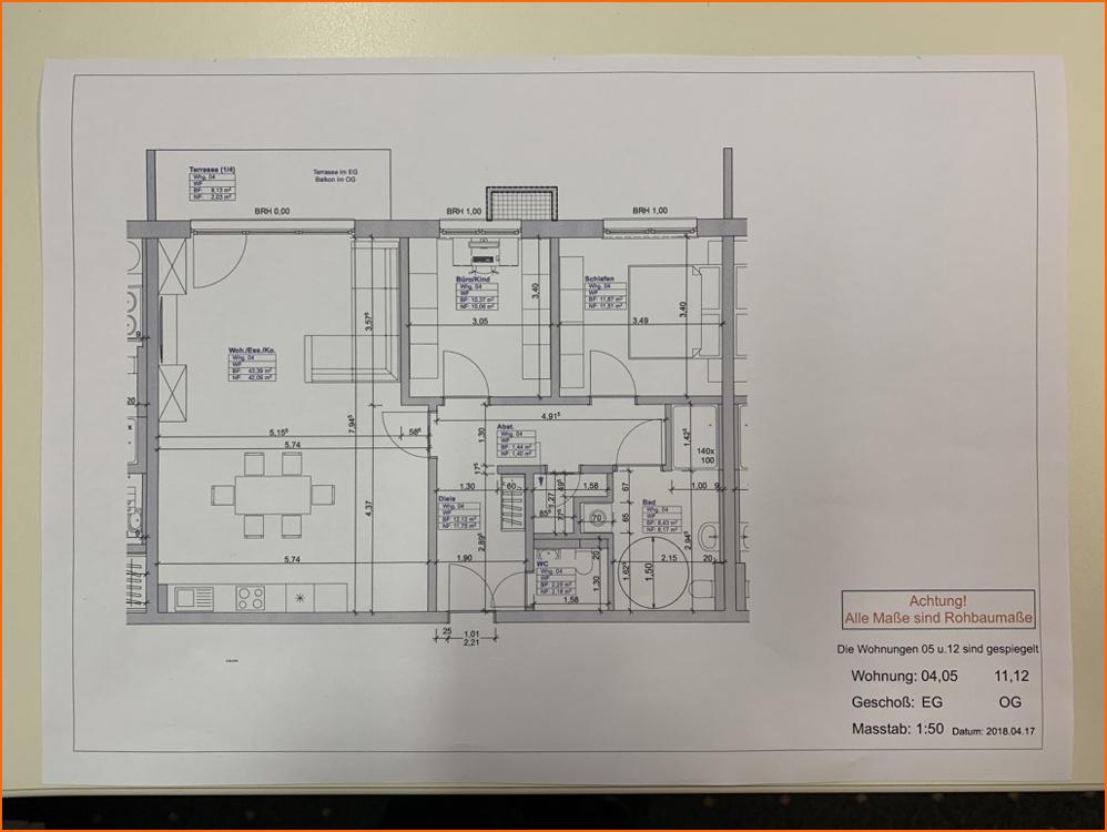 Grundriss Wohnung 04 EG