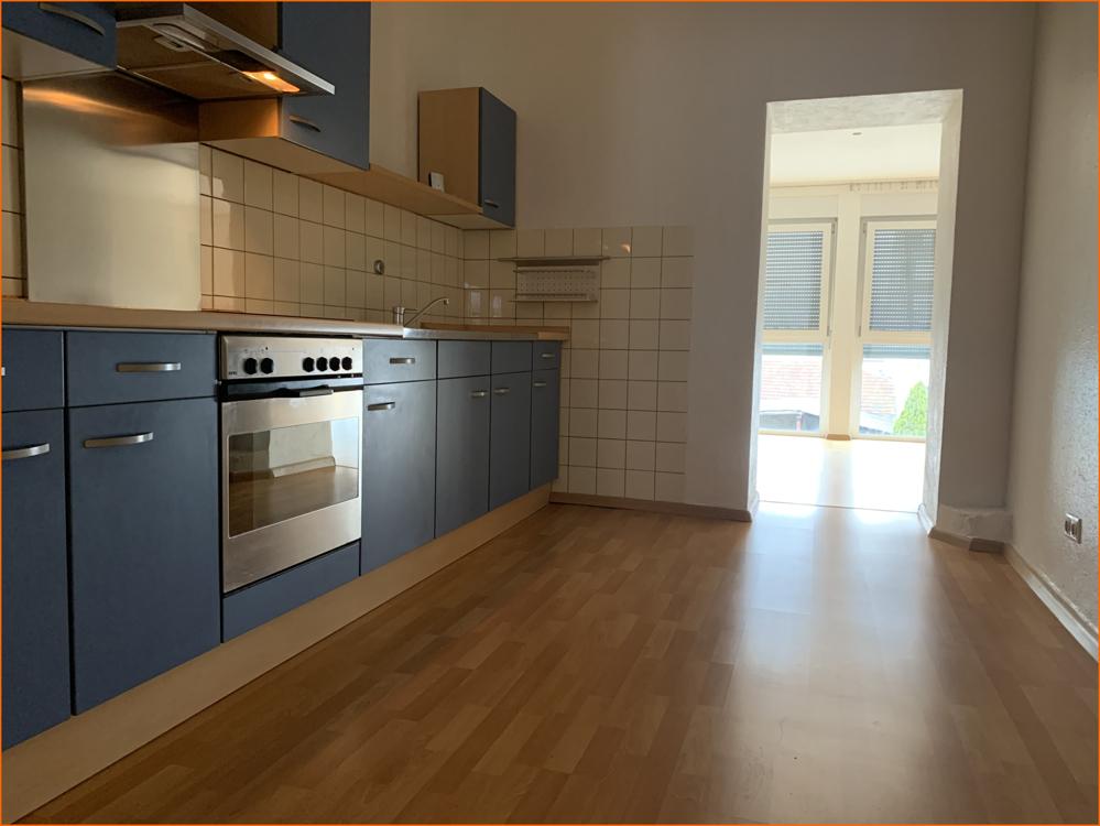 Küche mit Durchgang