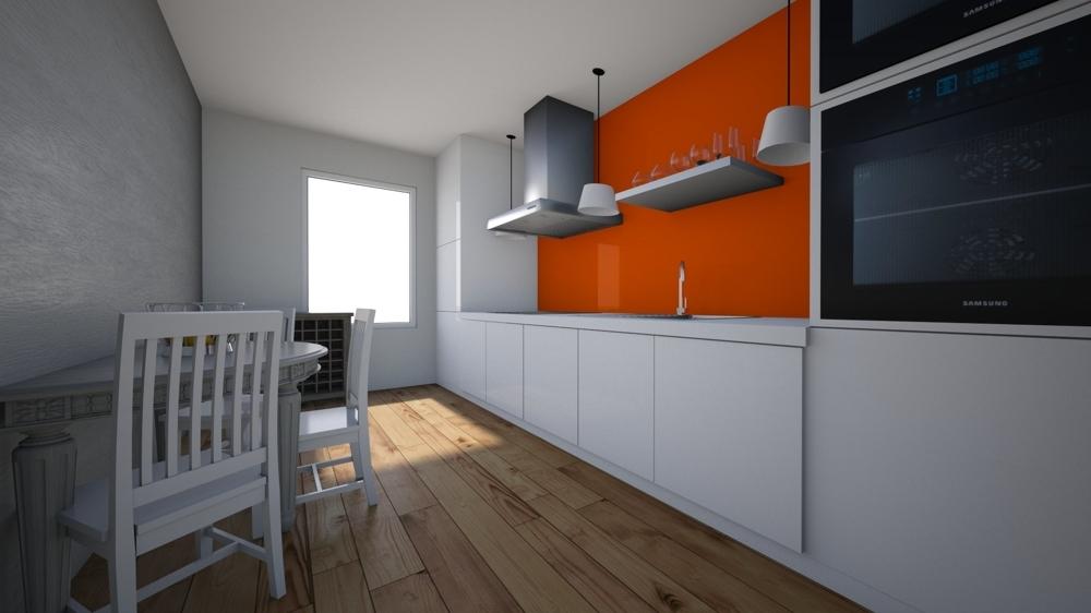 Küche EG visualisiert