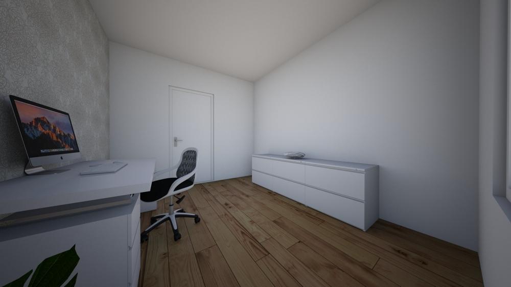 Büro EG visualisiert