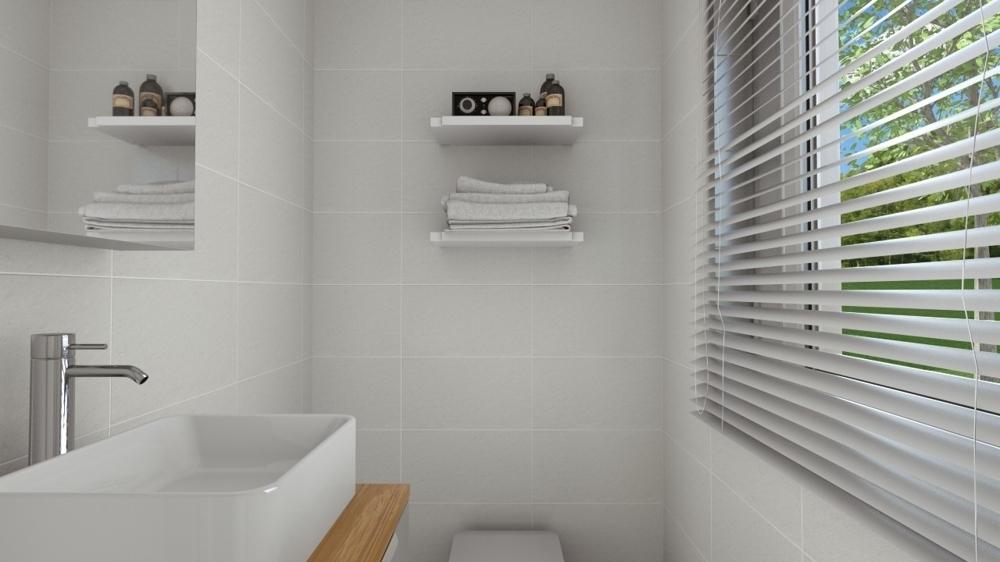 Visualisierung Gäste-WC