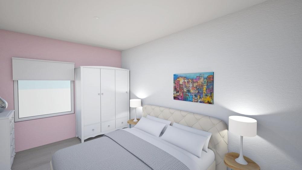 Schlafzimmer visualisiert