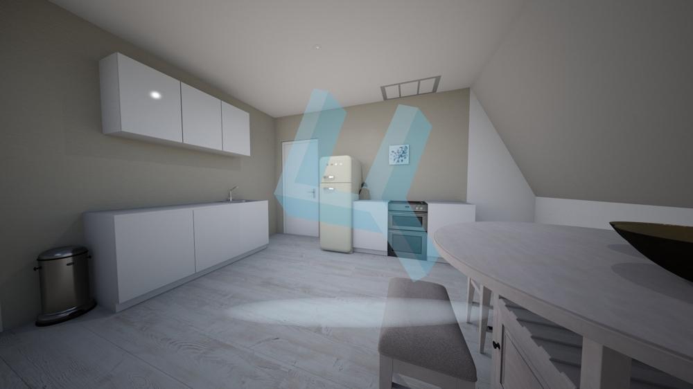 Küche visualisiert DG