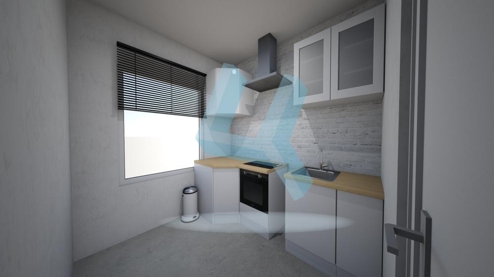 Küche visualisiert EG