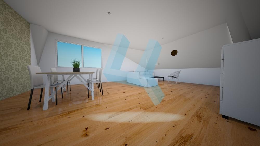 Wohnzimmer visualisiert DG