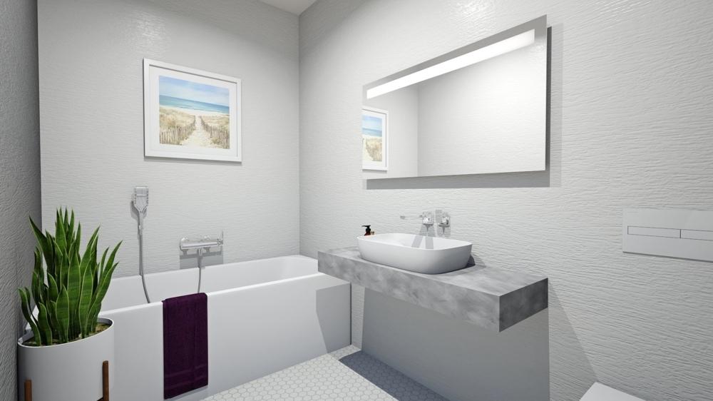 Badezimmer_Visualisierung