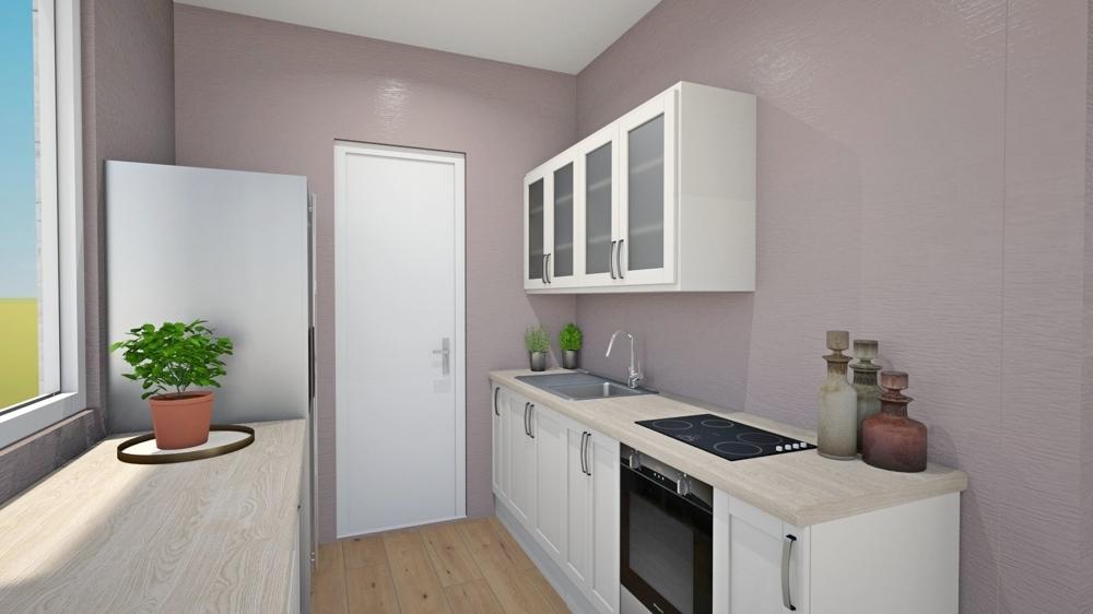 Küche_Visualisierung