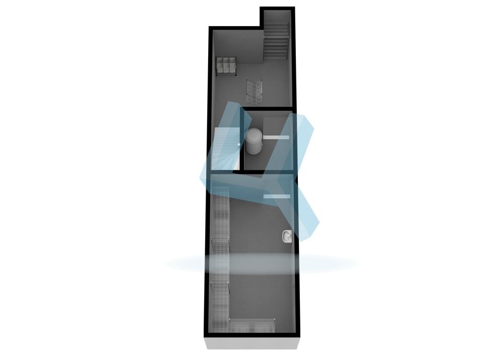 3D-Grundriss_KG unmaßstäblich