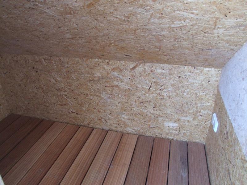 Abstellkammer Balkon