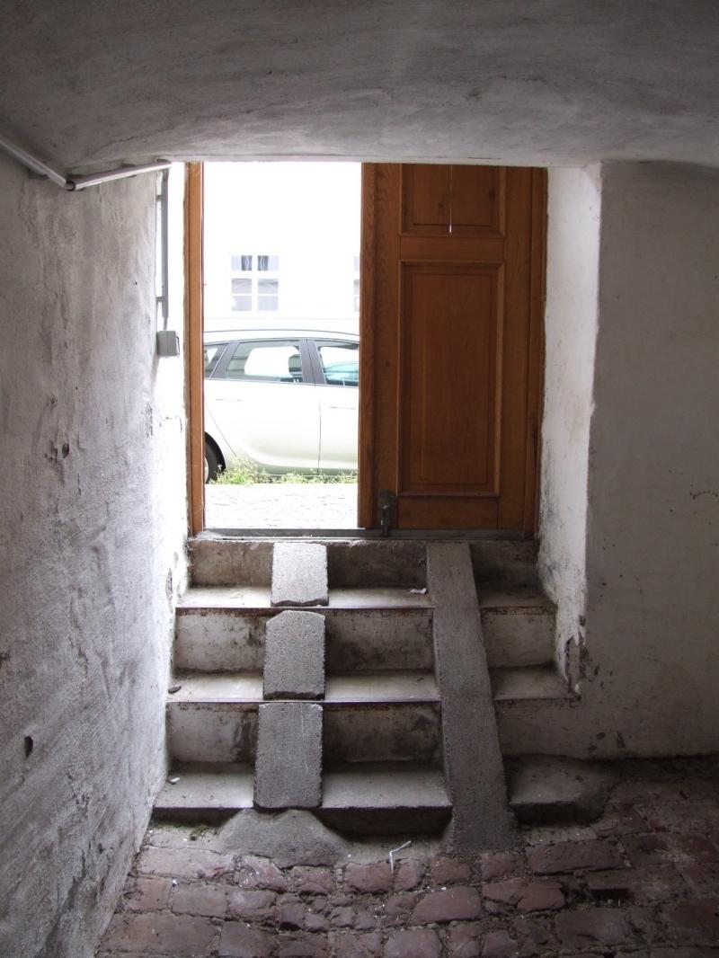 Zugang Keller von der Straße