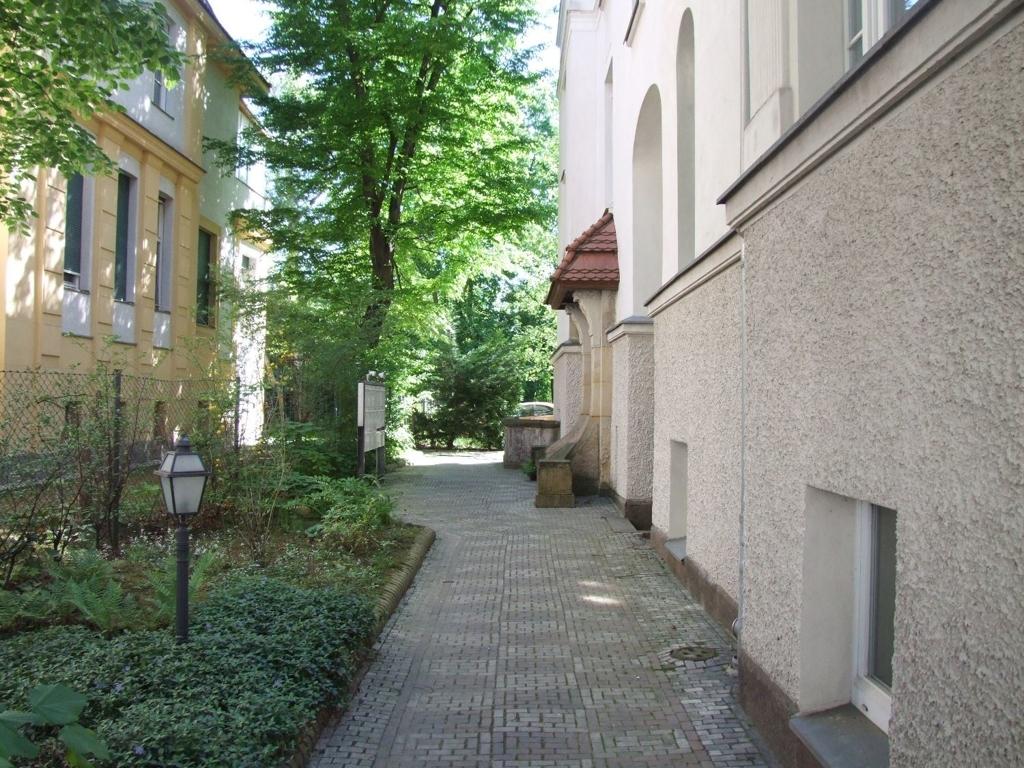 Zugang zum Hauseingang