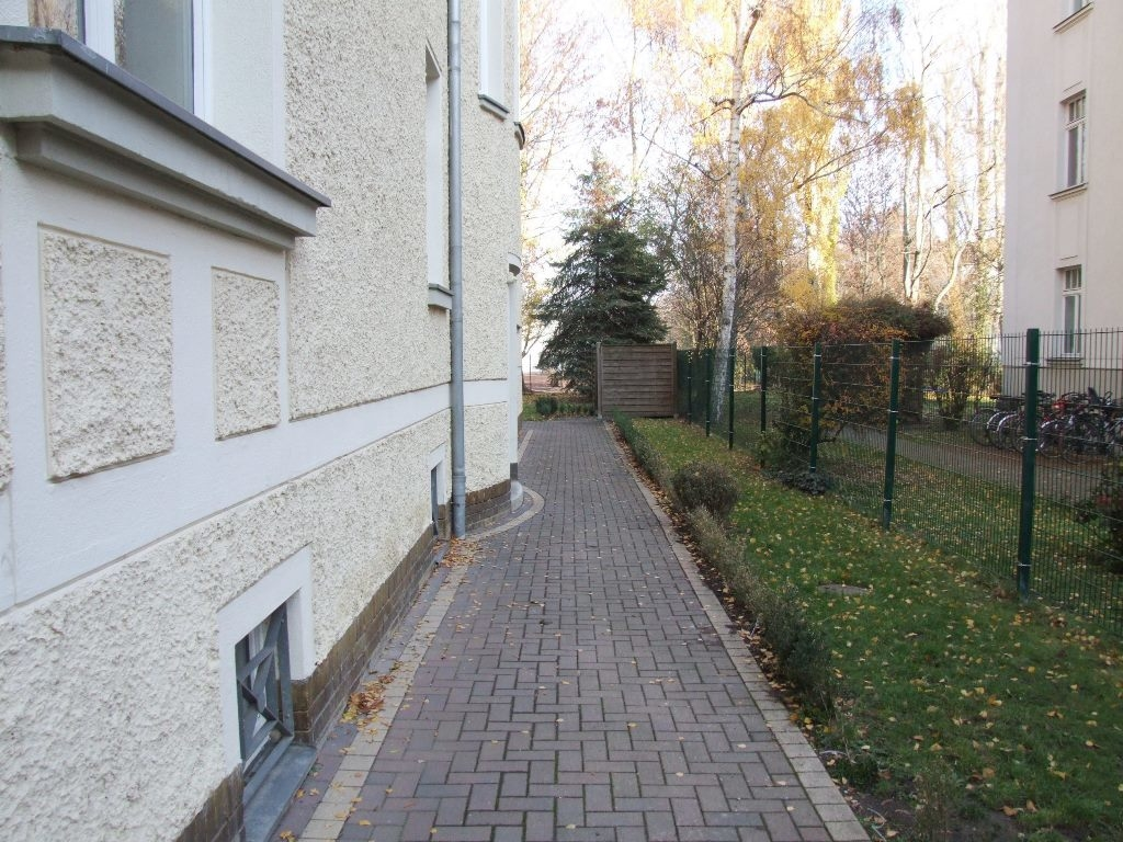 Zugang Grundstück