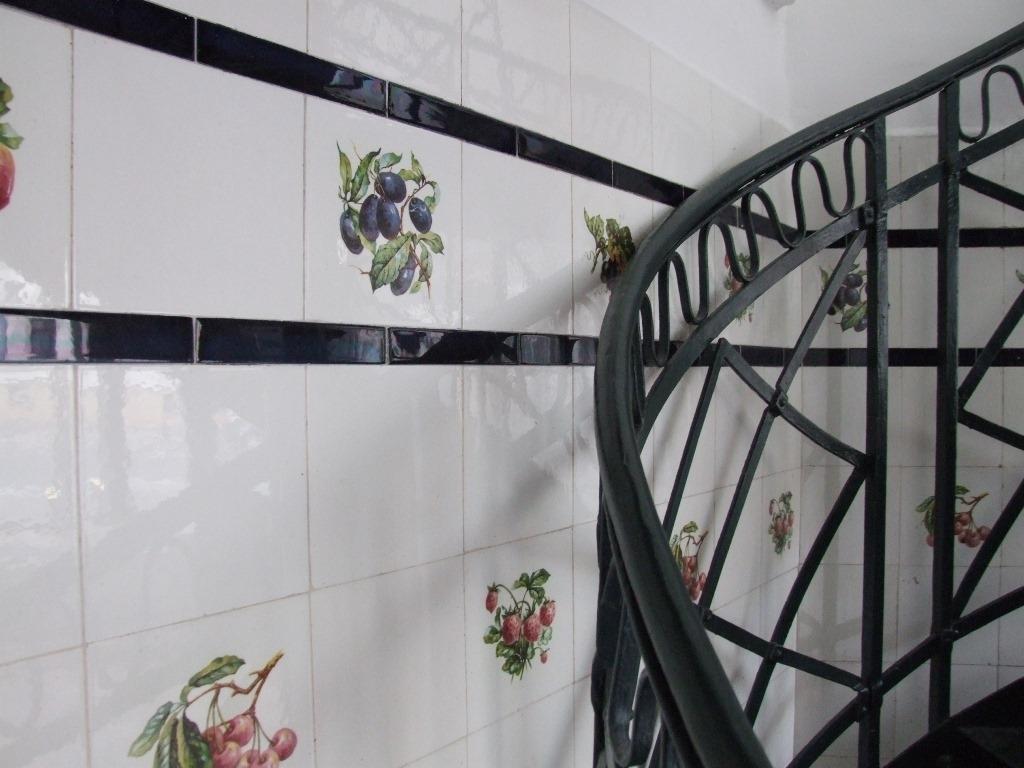 Detail Treppe & Wandfliesen