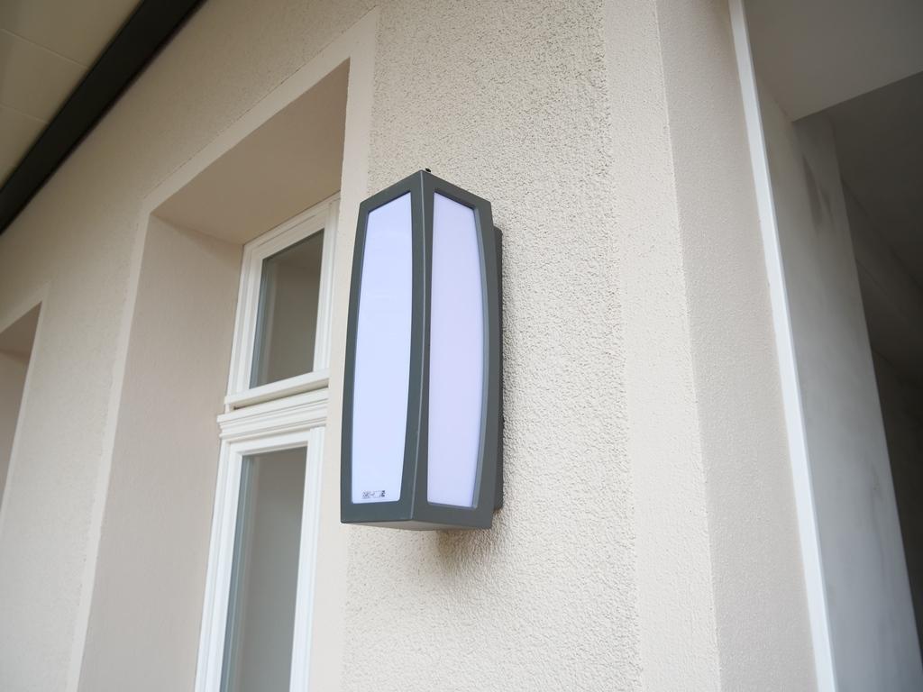 Detail Balkonbeleuchtung